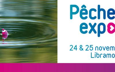 Rejoignez-nous au salon Pêche Expo les 24 & 25 novembre 2018 à Libramont